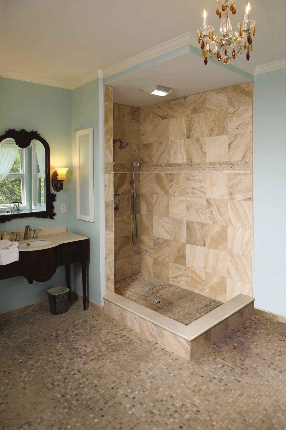 Ceramic wall tiles bathroom