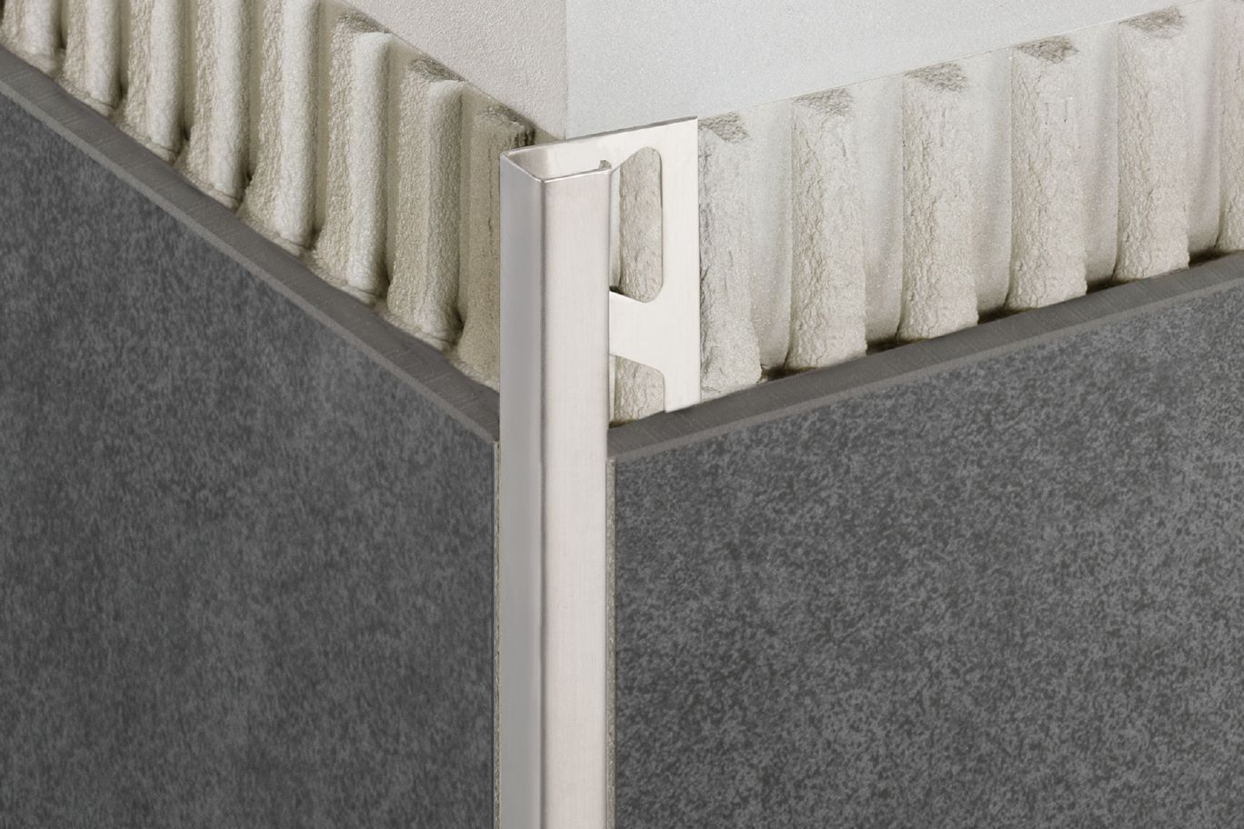 Schluter®-QUADEC | Edging & Outside Wall Corners | For Walls