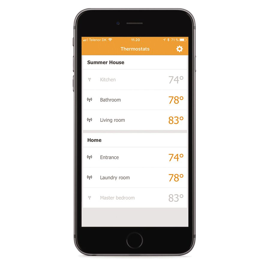 Ditra Heat E Wifi Thermostat How To Hook Up A Connect Your System From Mobile Device