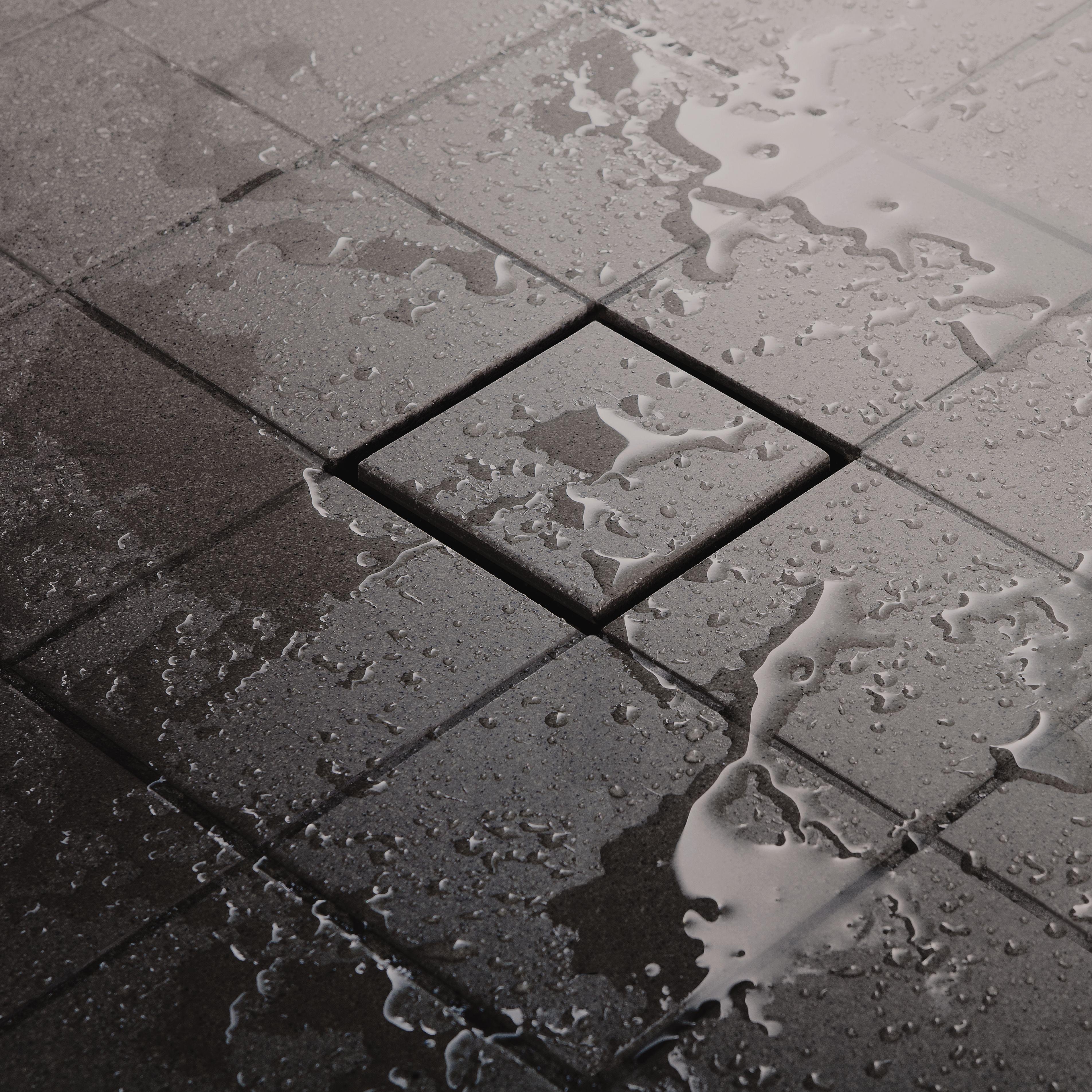 Une nouvelle plaque carreler avec kerdi drain - Plaque a carreler ...