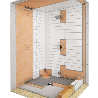 Residential steam showers for Build steam shower