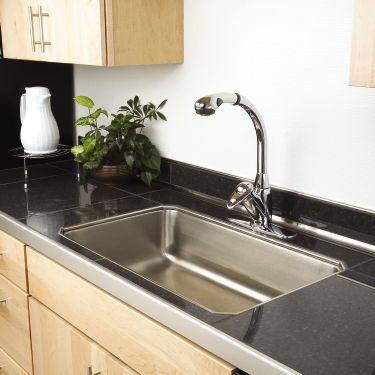 Charmant Countertop With Aluminum Trim