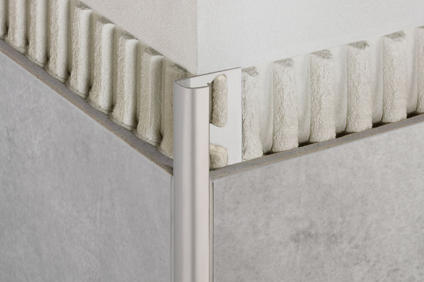 Schluter®-RONDEC | Edging & Outside Wall Corners | For Walls