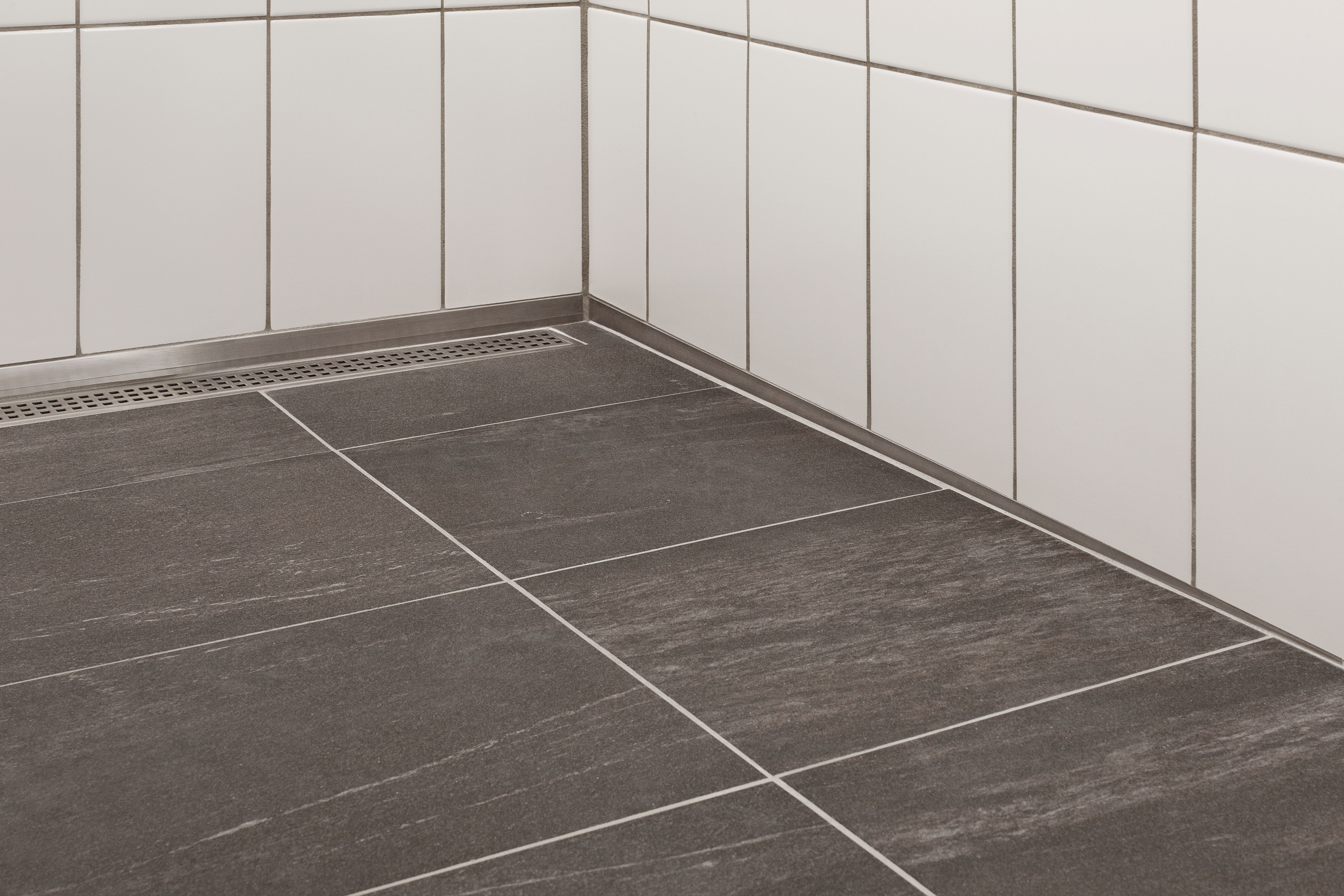 Base For Bathroom Floor Tiles : Subway station schluter