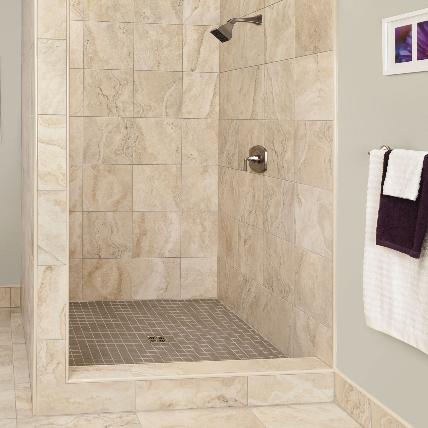 5 Phenomenal Bathroom Tile Combinations: Beautifully Beige