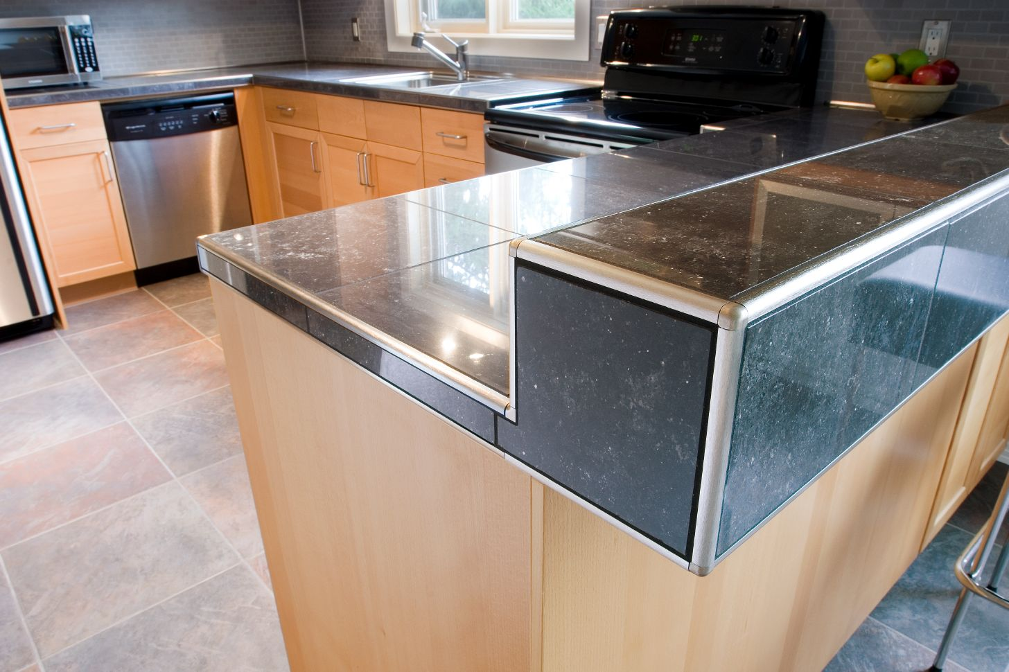granite contemporary countertop material most countertops cabinet cool full top stone ideas tile and renovation cheap quartz pictures tops edges new kitchen prices of durable affordable bullnose edge popular size options