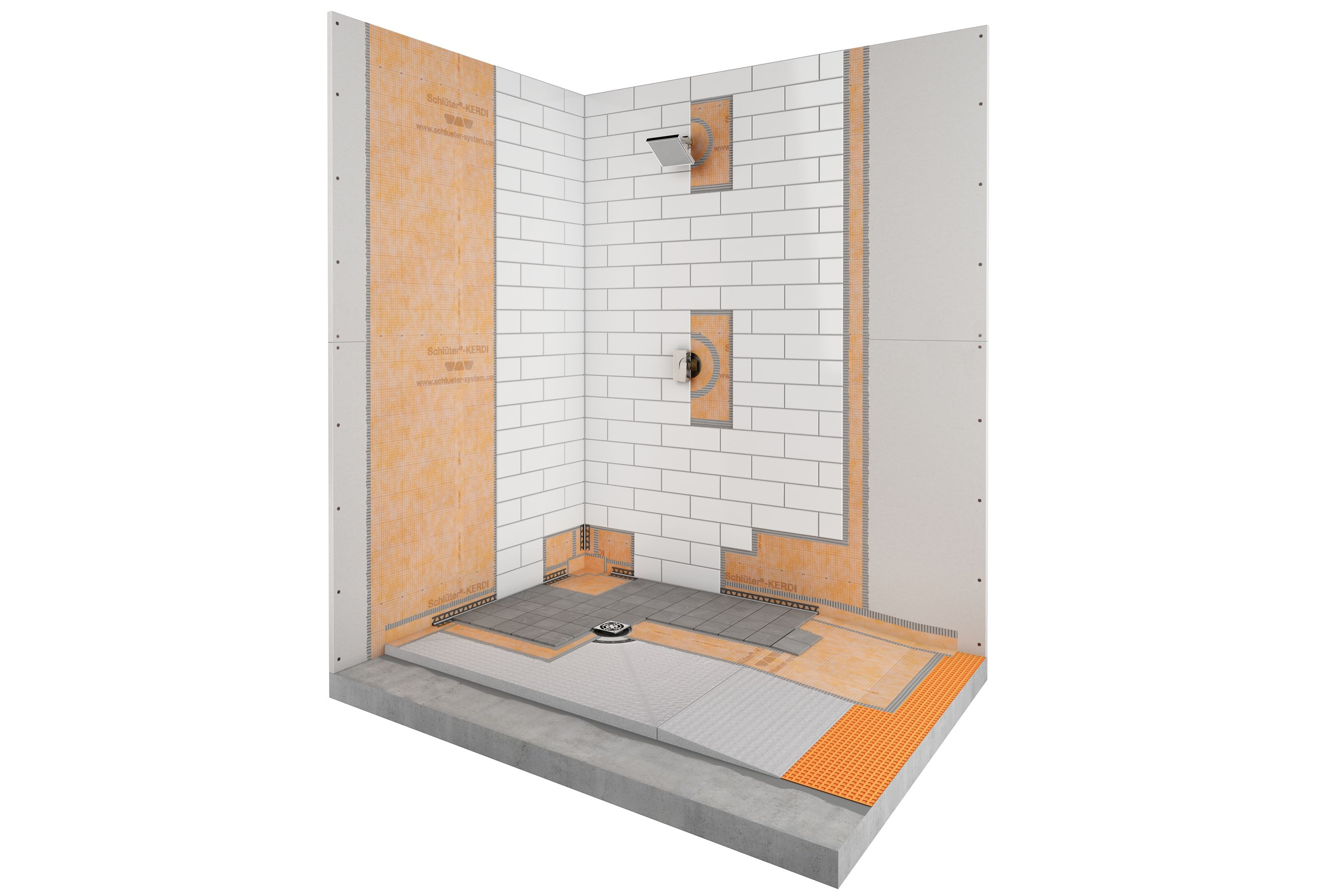 barrier free bathrooms schluter com