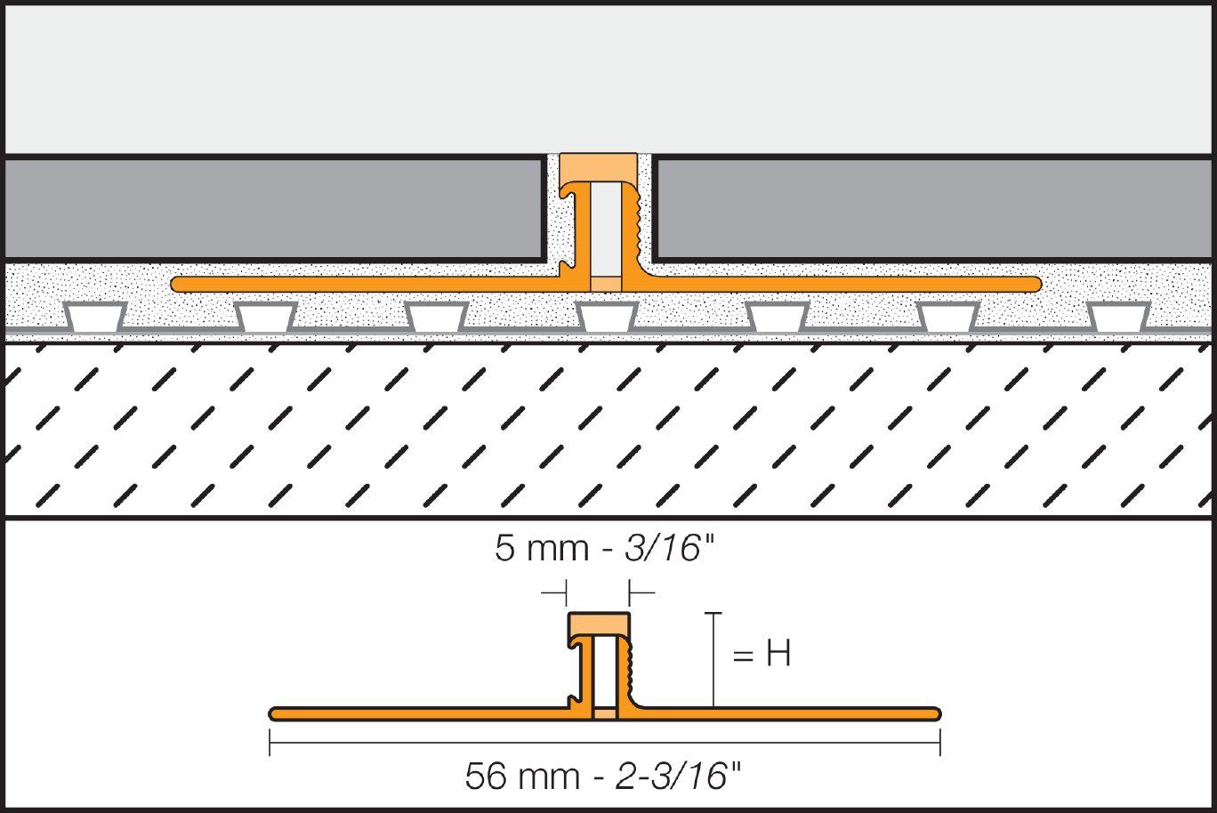 Schluter®-DILEX-BWS