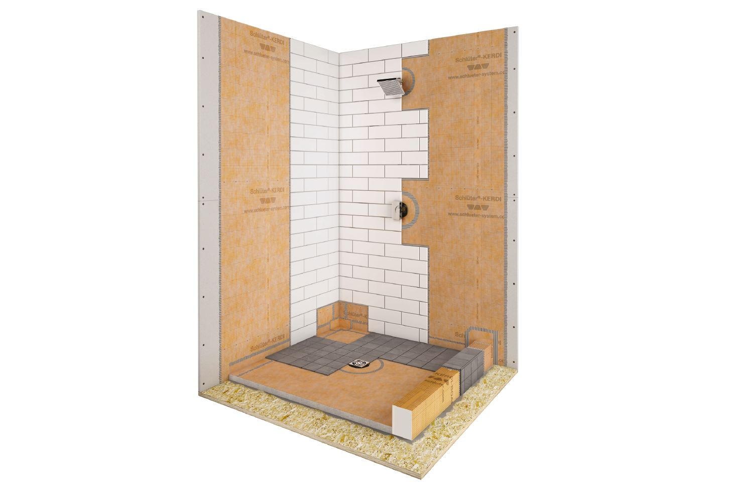 Tiled Shower Waterproofing Systems Schluter Com