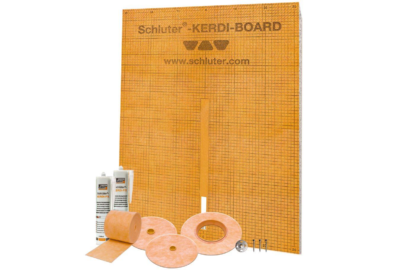 Schluter®-KERDI-BOARD-KIT