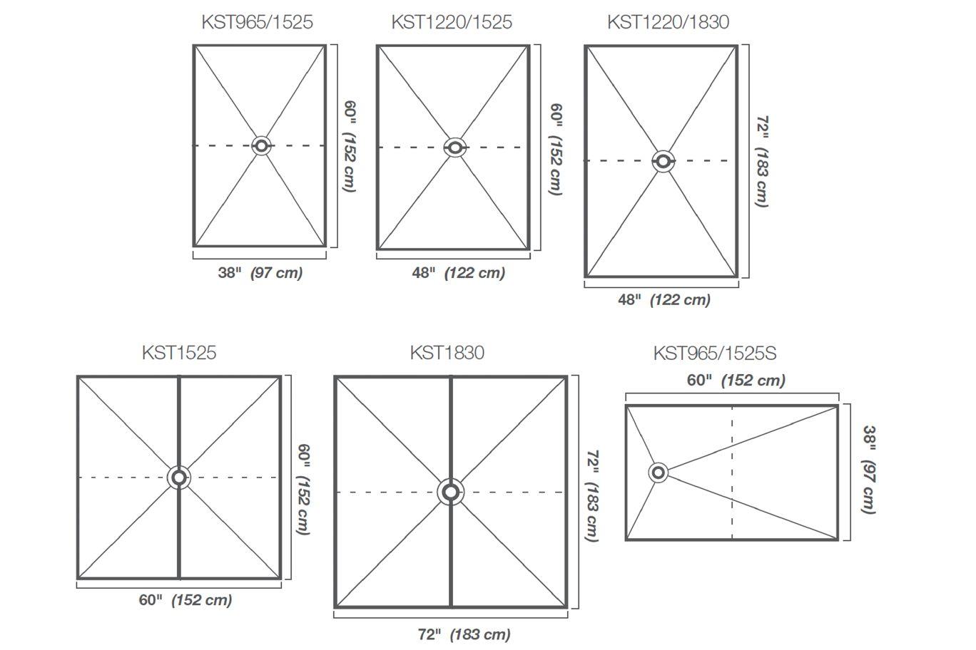 Schluter®-KERDI-SHOWER-T/-TS/-TT