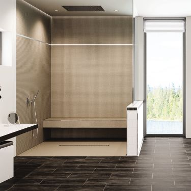 Barrierfree Bathrooms Schluter Cool Bathroom Tile Installation