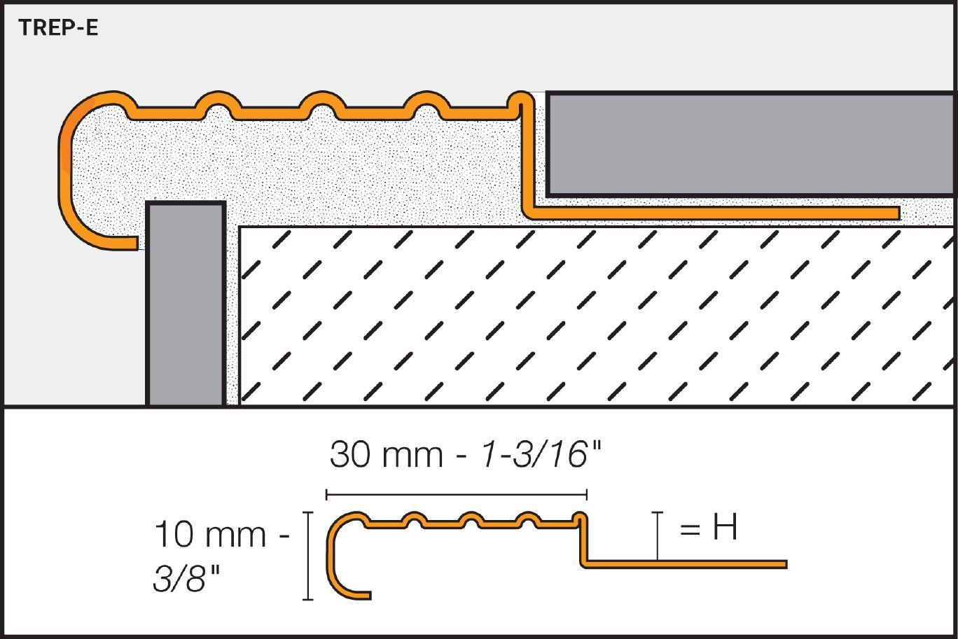 Schluter®-TREP-E/-EK