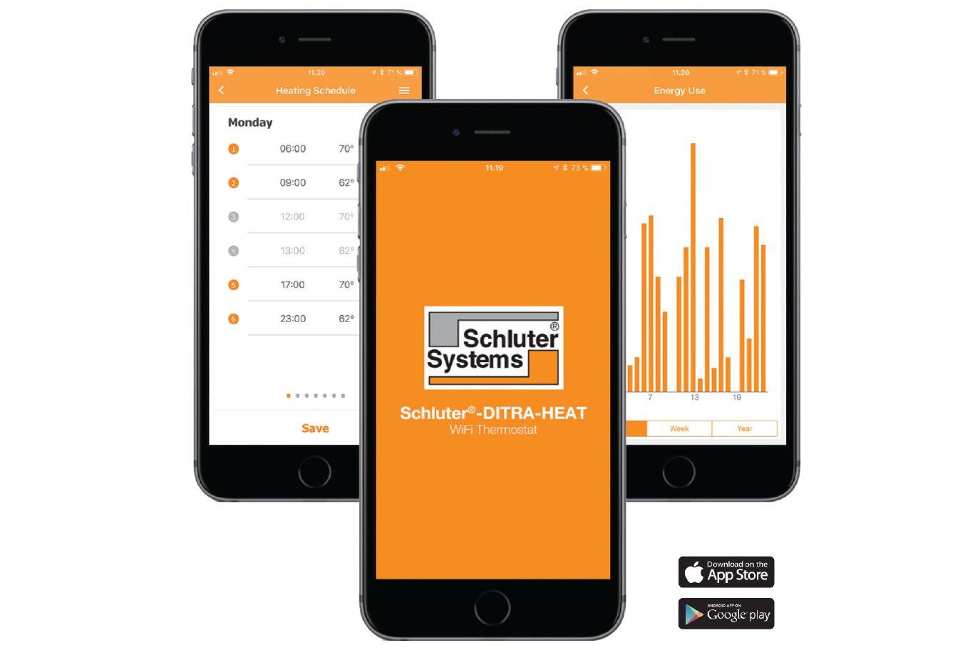 Schluter®-DITRA-HEAT-E-WiFi