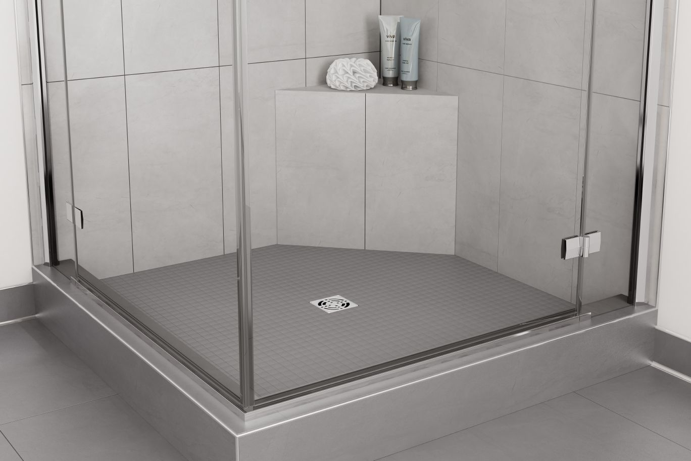 Schluter®-KERDI-SHOWER-SB | Prefabricated Substrates | Shower System ...