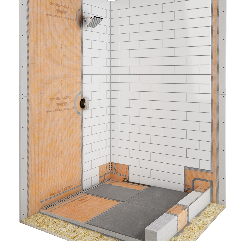 Beautiful Schluter Bathroom Systems Photos - Bathroom with Bathtub ...