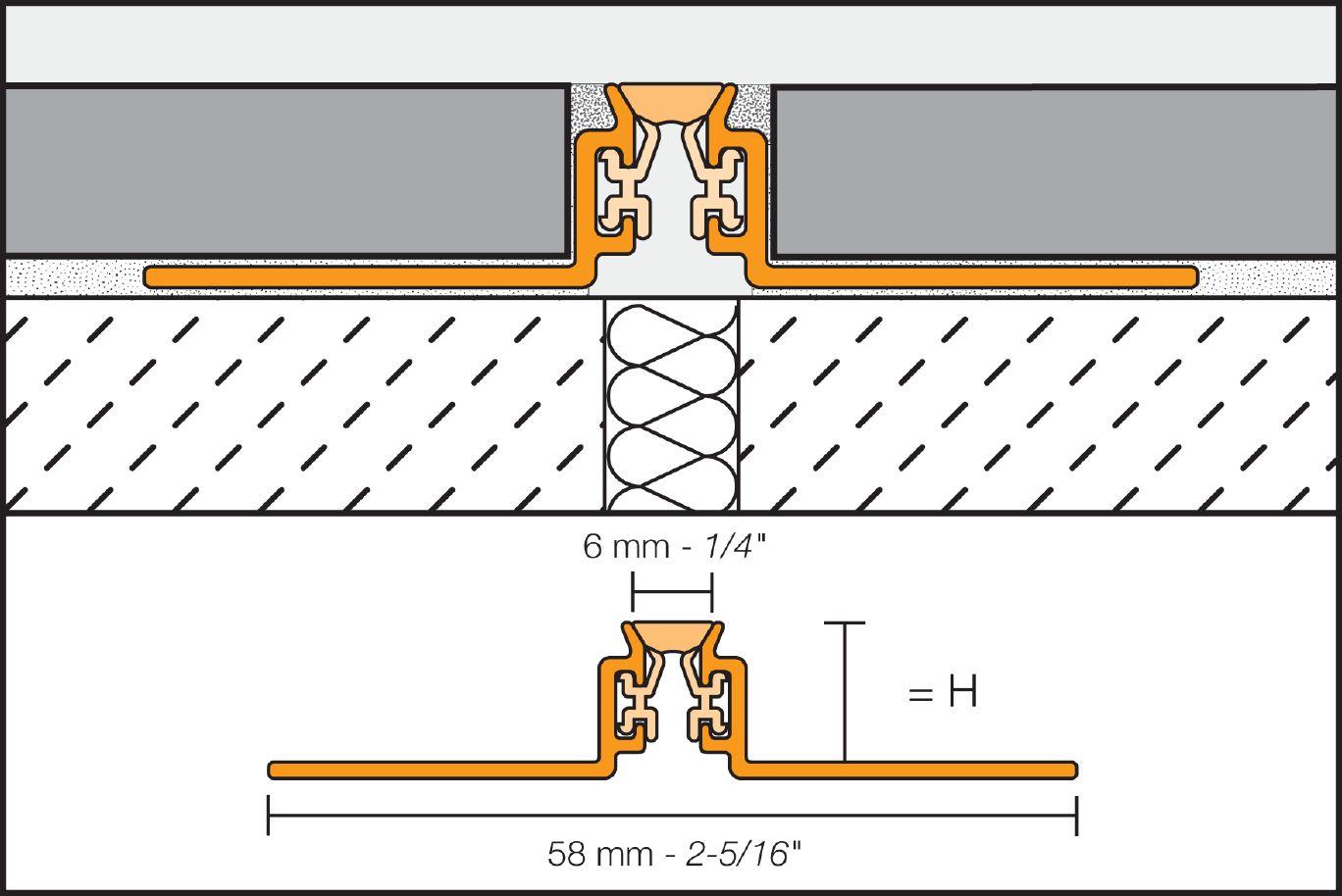 Schluter®-DILEX-AKWS
