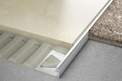 Schluter 174 Schiene Same Height Transitions For Floors