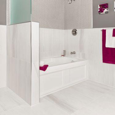 Bathtub Surround With KERDI BOARD Waterproof Panels