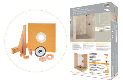 Schluter®-KERDI-SHOWER-KIT-FL