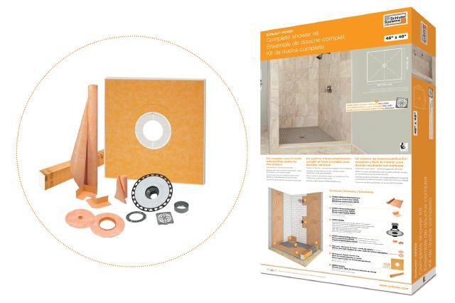 Schluter®-KERDI-SHOWER-KIT-FLG