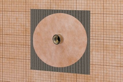 Schluter 174 Kerdi Km Waterproofing Shower System