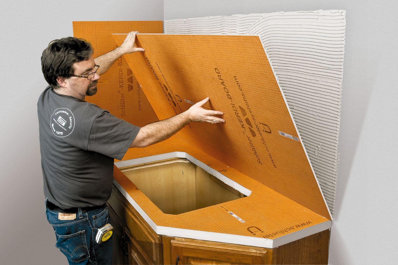 Modele Salle De Bain Simple ~ Schluter Kerdi Board Panneaux Kerdi Board Panneaux De