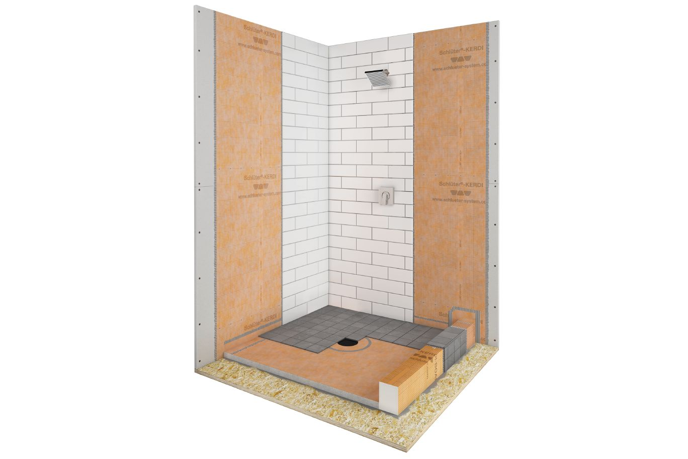 Schluter Kerdi Shower Pan Installation.Schluter Kerdi Shower Kit Shower Tub Kits Shower
