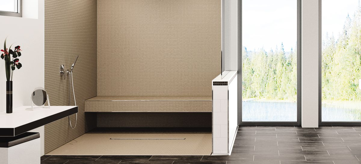 Barrier Free Bathrooms Schluter