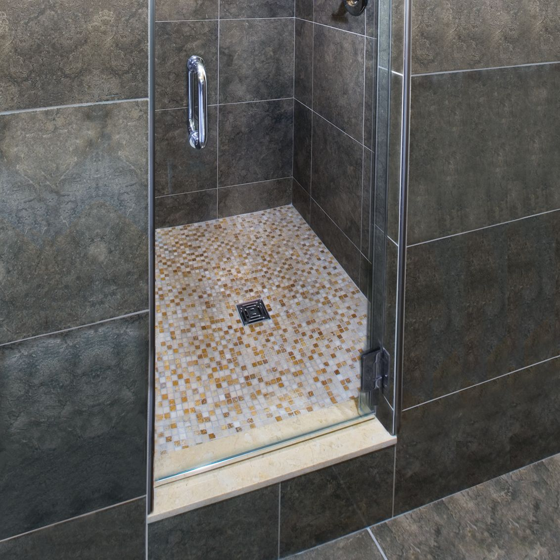 Waterproofing bathroom tile - Traditional Tiled Shower Assemblies Water In Water Out Systems