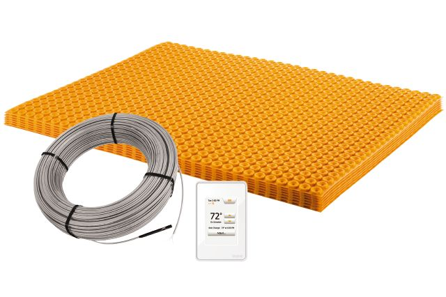 Ensemble Schluter®-DITRA-HEAT-E-KIT