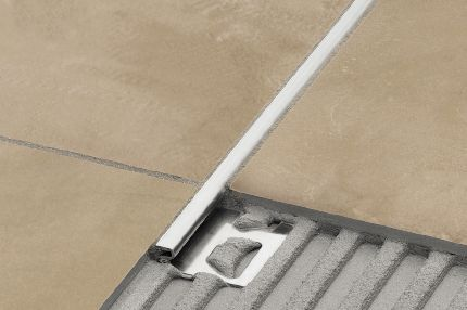Schluter 174 Deco Same Height Transitions For Floors