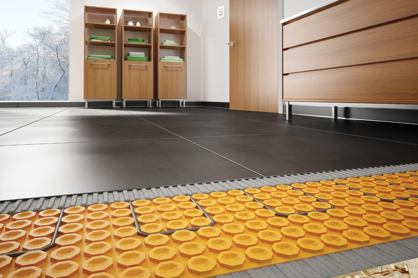 planchers chauffants. Black Bedroom Furniture Sets. Home Design Ideas