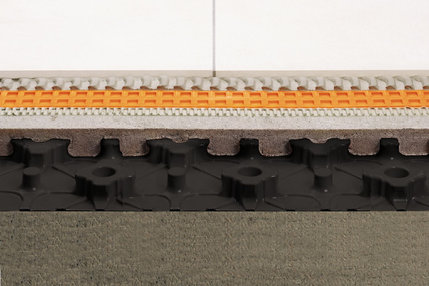 Schluter Bekotec Modular Screed Systems Piping Diagram Radiant Floor Heat