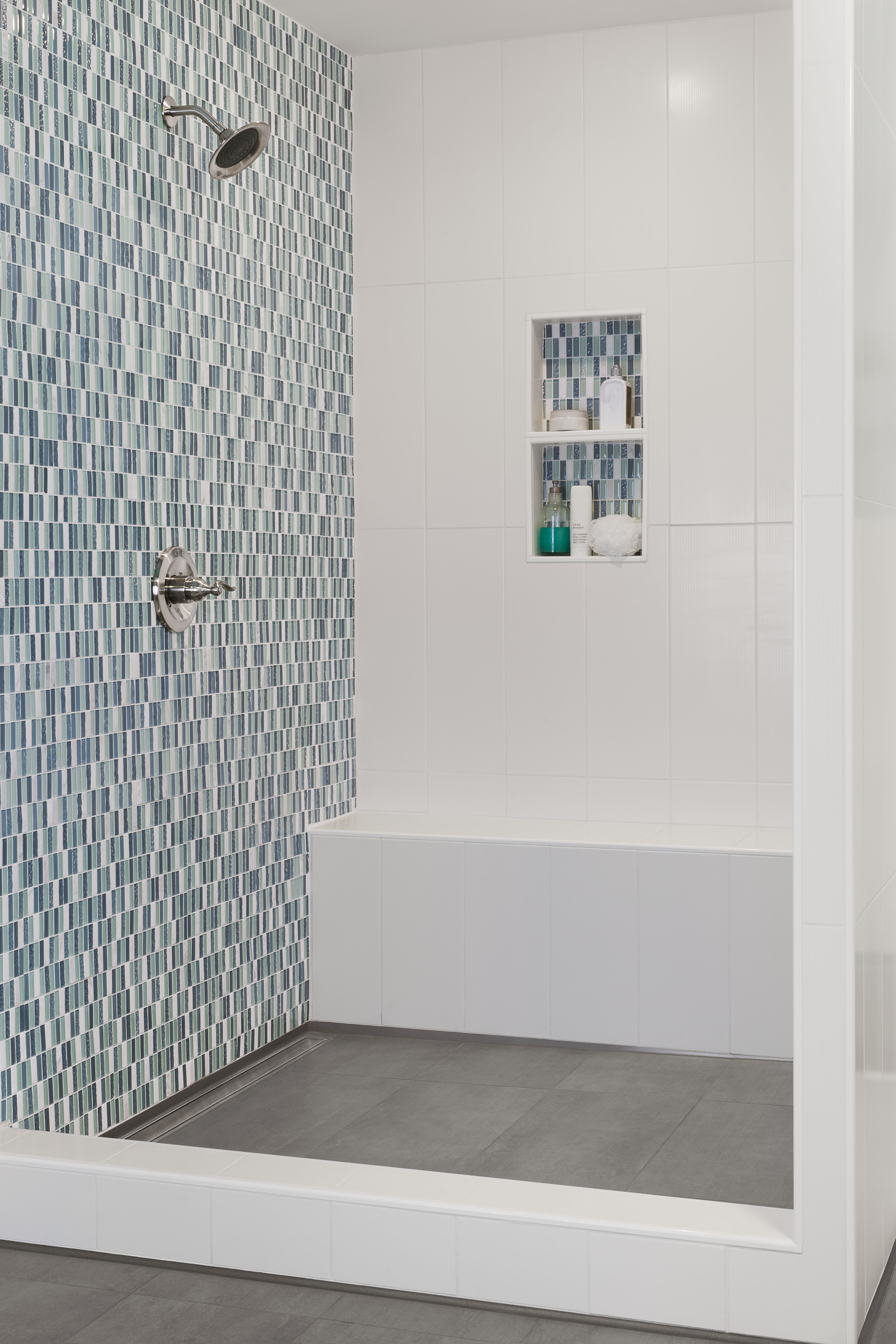 Blue lagoon Bathroom tile showers