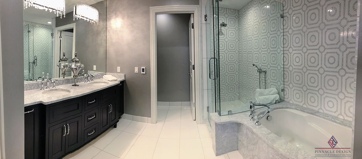 Superieur DITRA HEAT DUO Floor Warming System Is Used Throughout The Shower Room. The  System Not Only Protects The Floor Covering With Its Uncoupling And ...