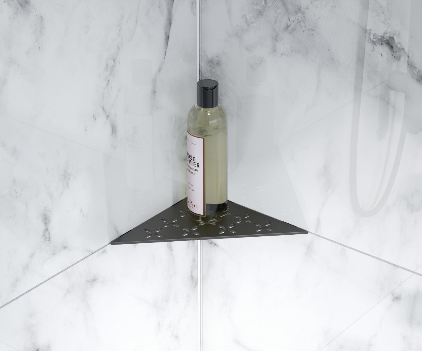Shower Accessories In Matte Black Schluter Com