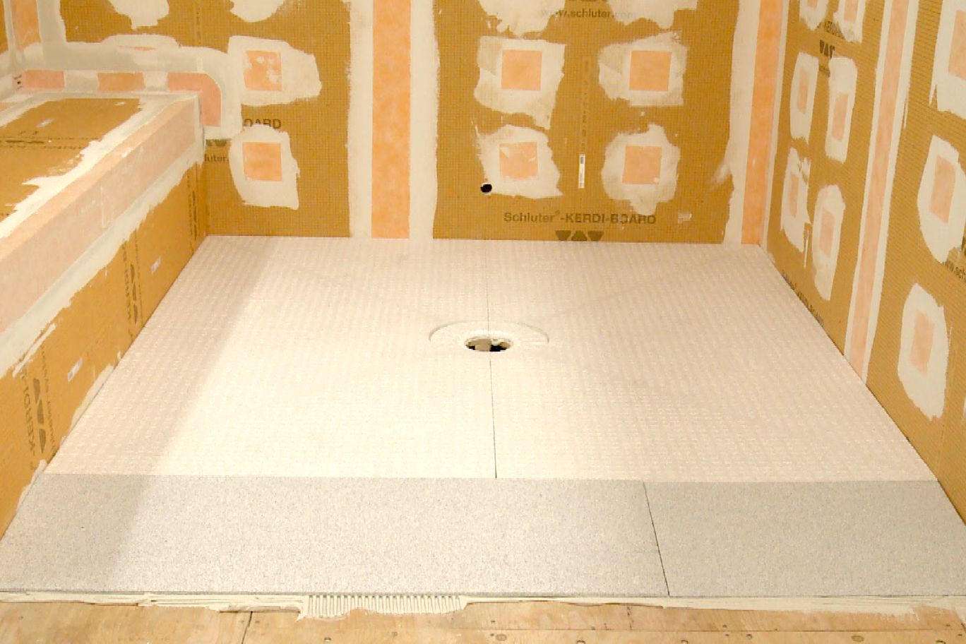 Schluter 174 Kerdi Shower Sr Prefabricated Substrates