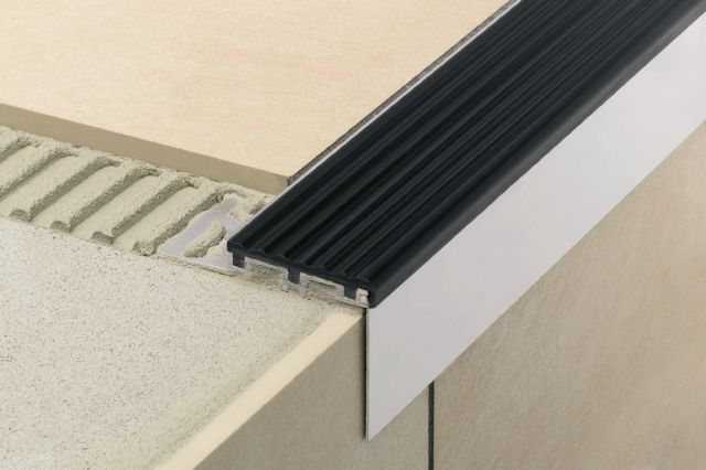 Countertop Nosing Options : For Stairs Profiles schluter.com